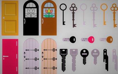 鍵の種類について