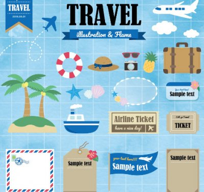 travel illust